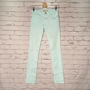 Z1975 Denim Deluxe Collection Skinny Jeans Mint 2